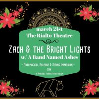 Zach & The Bright Lights Album Release! (CANCELED/POSTPONED)