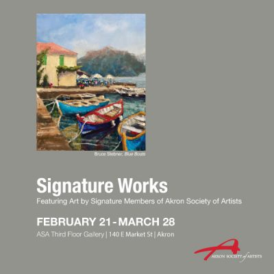 Works by Signature Members, Akron Society of Artists CANCELLED