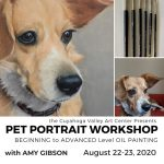 CVAC: Pet Portrait Workshop by Amy Gibson