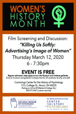 "Free Film event ""Killing us Softly"""