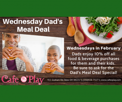 Wednesday Dad's Meal Deal