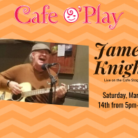 JAMES KNIGHT, Live on the Cafe Stage