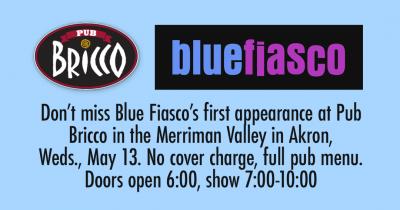 Blue Fiasco at Pub Bricco