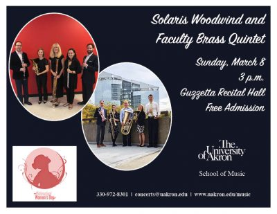 Solaris Woodwind and Faculty Brass Quintet