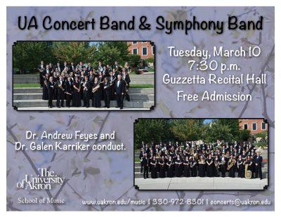 UA Symphony and Concert Band
