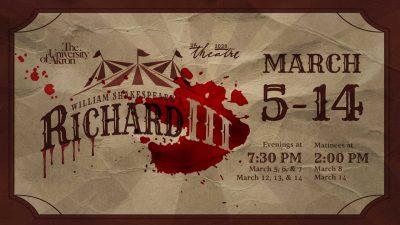 UA Theatre's Richard III