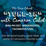 The Curio Cabinet TUNE-IN with Cameron Cabot