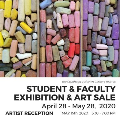 ARTISTS RECEPTION: Student & Faculty Exhibition