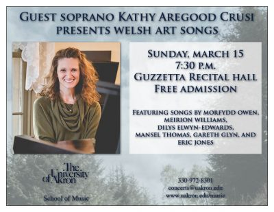 Guest soprano Kathy Aregood Crusi