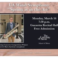 "UA Wind Symphony - ""Spring is in the Air"""