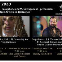 JazzFest: Faculty Jazz Combo (CANCELED/POSTPONED)