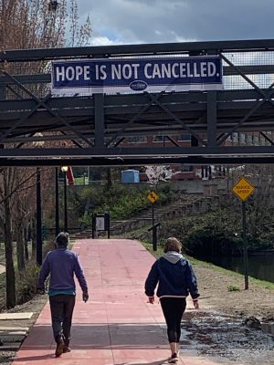 Akron Civic Commons: Messages of Hope and Inspiration