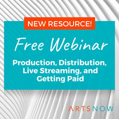 Free Webinar: Production, Distribution, Live Streaming, Getting Paid