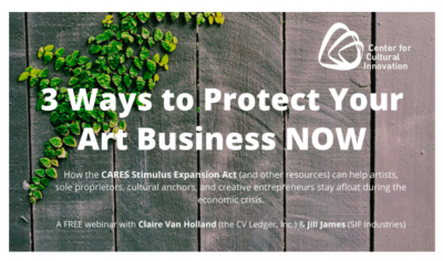 3 WAYS TO PROTECT YOUR ART BUSINESS NOW