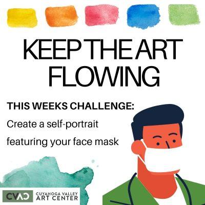 Keep The Art Flowing: Weekly Art Challenge