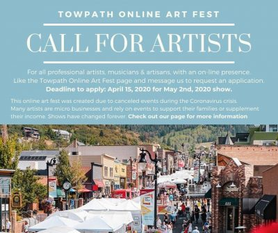 Call for Artists - Towpath Online Art Fest