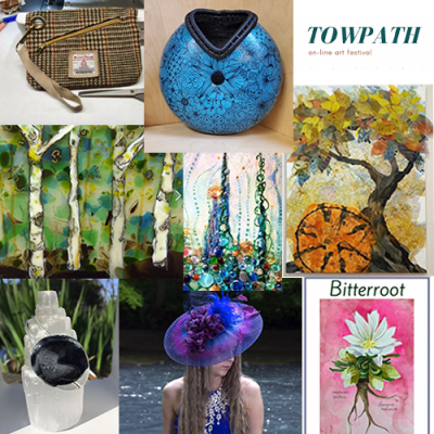 Towpath Online Art Festival - May show