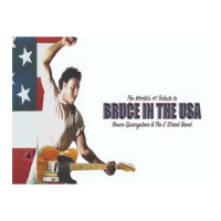 The World's #1 Tribute to Bruce in the USA (Canceled)