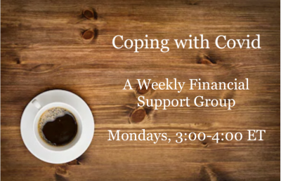 Coping with Covid - A Weekly Financial Support Group