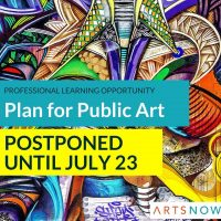 Plan for Public Art: Professional Learning Opportunity
