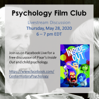 CCHP Psychology Film Club - Inside Out