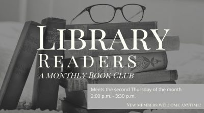 Library Readers Book Club