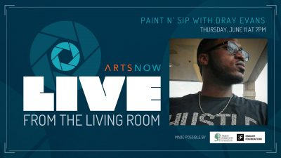 Live From the Living Room: Paint n' Sip with Dray Evans