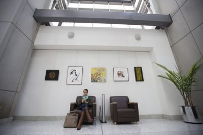 Design of Terrazzo Art at Akron-Canton Airport