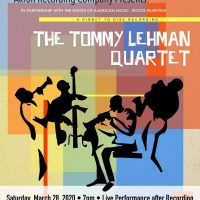 The Tommy Lehman Quartet Direct to Disk Recording (Canceled)