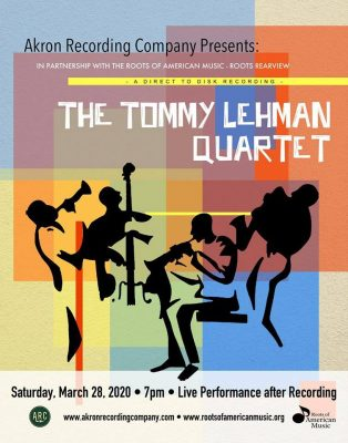 The Tommy Lehman Quartet Direct to Disk Recording ...