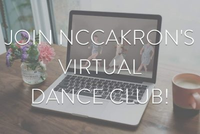 Virtual Dance Club with NCCAkron