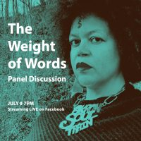 The Weight of Words Live-stream Facebook Discussion with Shani Richards