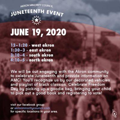 AMC Juneteenth Event