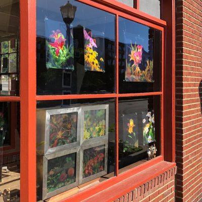 Pop Up Art Gallery - Jenks Building