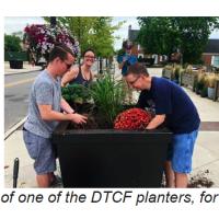 Request for Proposals: Art for Vinyl Wraps for Downtown Cuyahoga Falls Planters