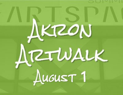 Akron Artwalk reopens in-person Aug. 1