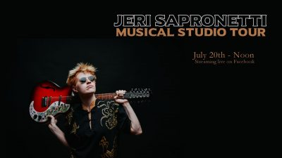 Musical Studio Tour with Jeri Sapronetti