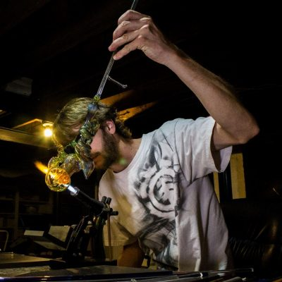 Introduction to Lampworking with Kevin Ryan using Borosilicate Glass