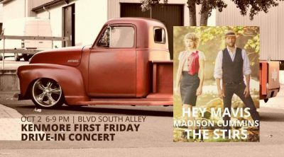 Kenmore First Friday Drive-In Concert ft. Hey Mavi...