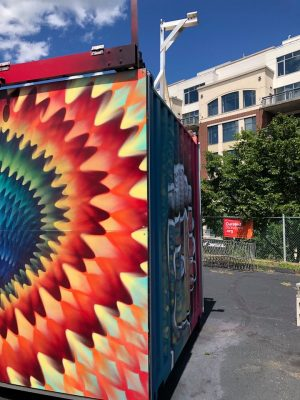 Wild Wild West: Political Antics & Vortex Mural Reveal