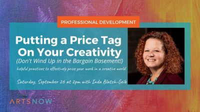 Putting a Price Tag on Creativity (Don't Wind Up in the Bargain Basement!)