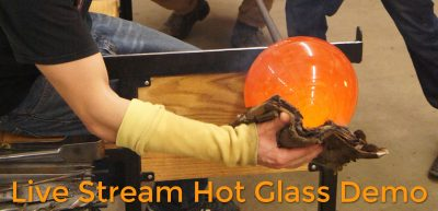 Hot Glass Demo