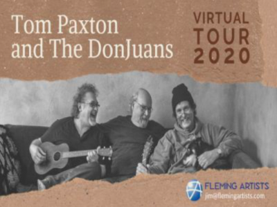 Tom Paxton and The DonJuans: Virtual Tour 2020