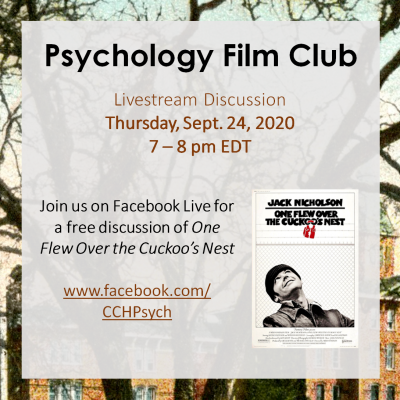 Psychology Film Club - One Flew Over the Cuckoo's ...