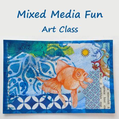 Mixed Media Fun