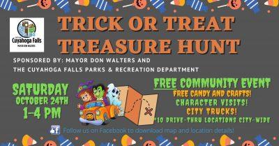 Cuyahoga Falls Halloween Treasure Hunt
