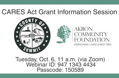 CARES Grant Info Session