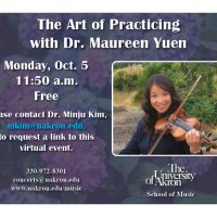 The Art of Practicing with Dr. Maureen Yuen