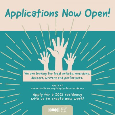 Artist-In-Residence Applications NOW OPEN at Akron...