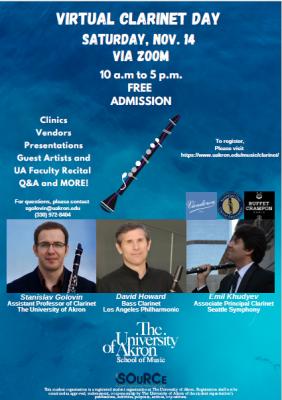 UA Clarinet Day